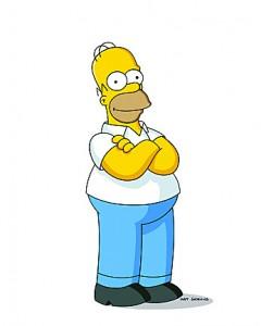 """Homer Simpson says """"Wa-Hoo!"""