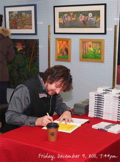 Duncan Weller Book Signing